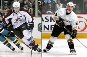 Avs get Johnson - Ducks get Beauchemin